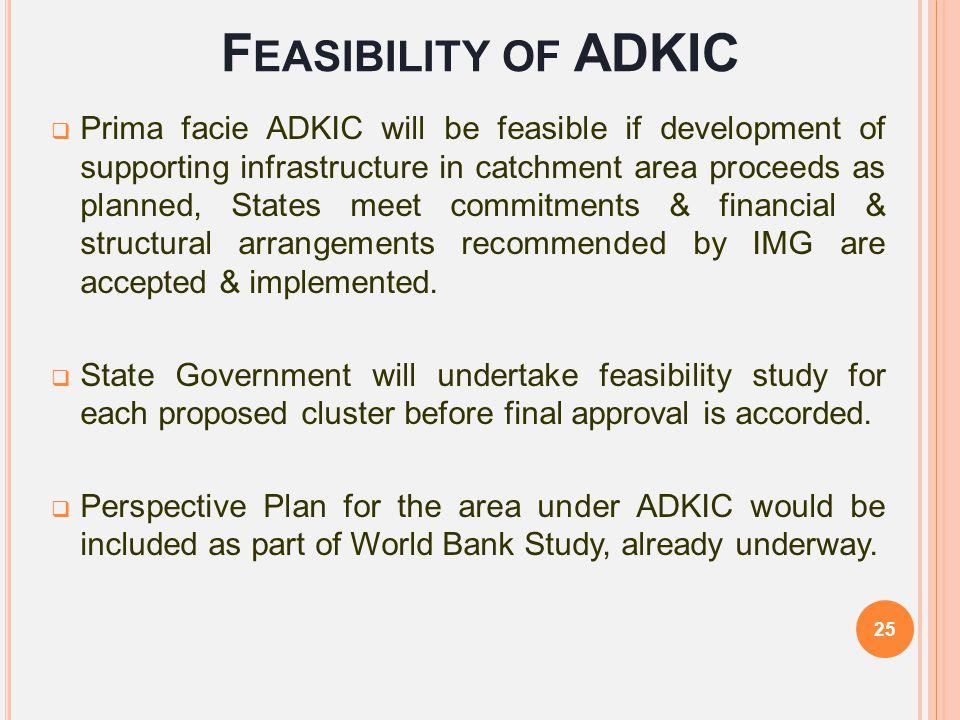Feasibility of ADKIC