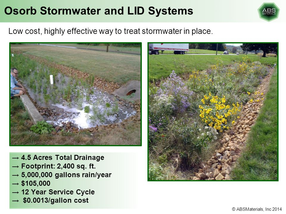 Osorb Stormwater and LID Systems