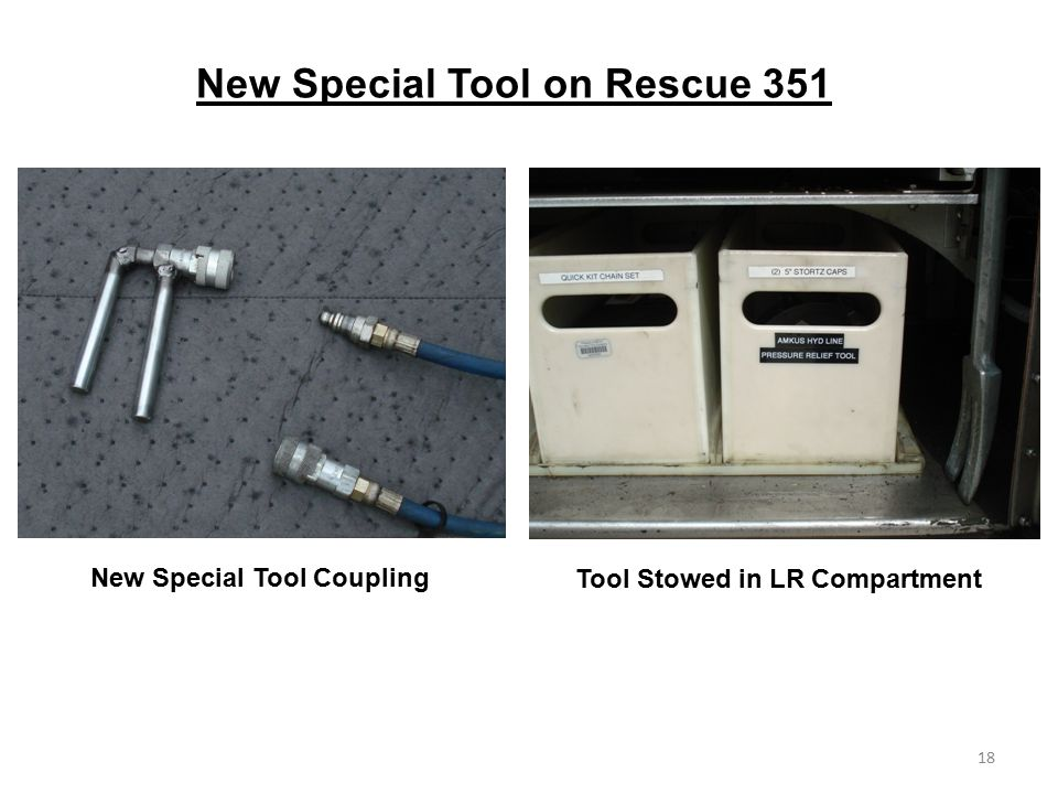 New Special Tool on Rescue 351