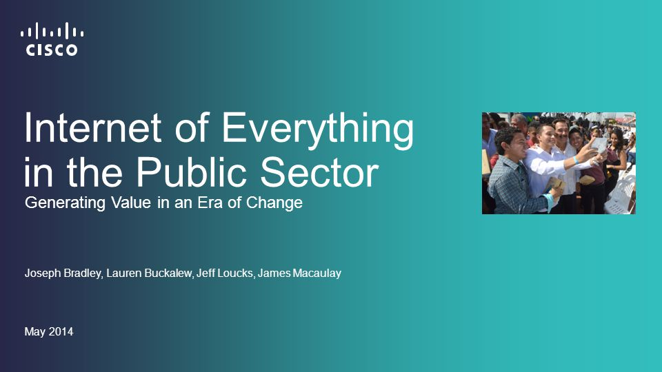 Internet of Everything in the Public Sector