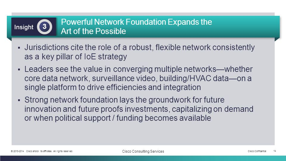 Powerful Network Foundation Expands the Art of the Possible