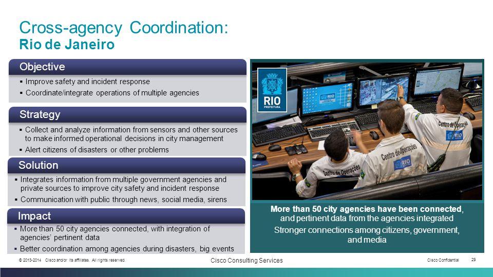 Cross-agency Coordination: Rio de Janeiro