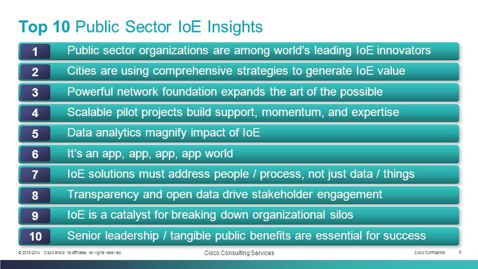 Top 10 Public Sector IoE Insights