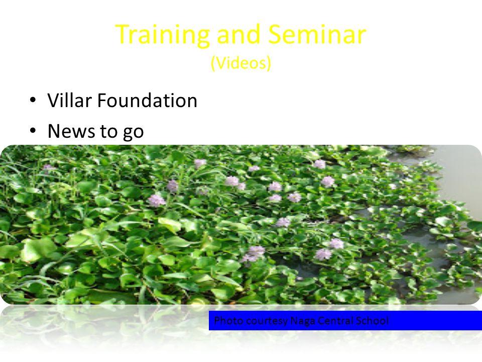 Training and Seminar (Videos)