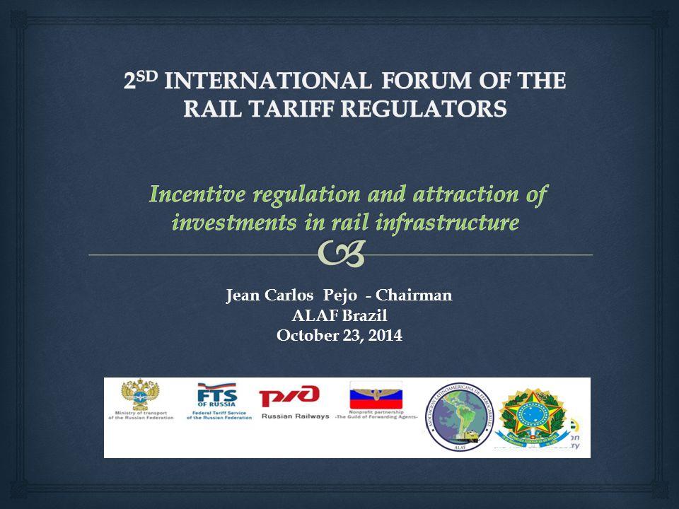 Jean Carlos Pejo - Chairman ALAF Brazil October 23, 2014