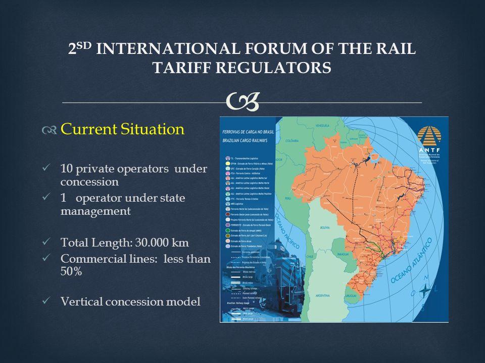 2sd INTERNATIONAL FORUM OF THE RAIL TARIFF REGULATORS