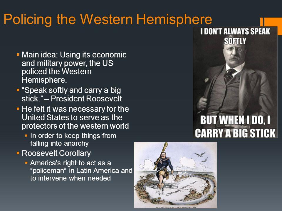 Policing the Western Hemisphere