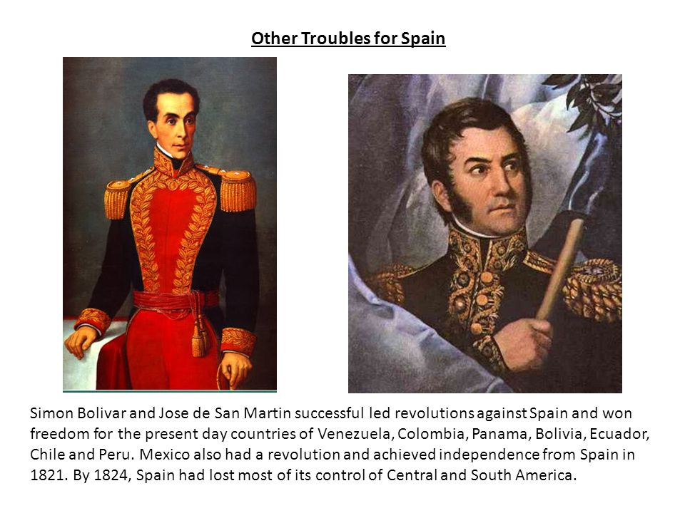 Other Troubles for Spain