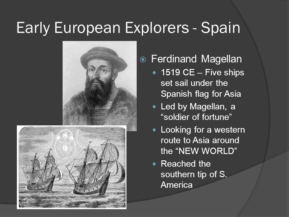 Early European Explorers - Spain