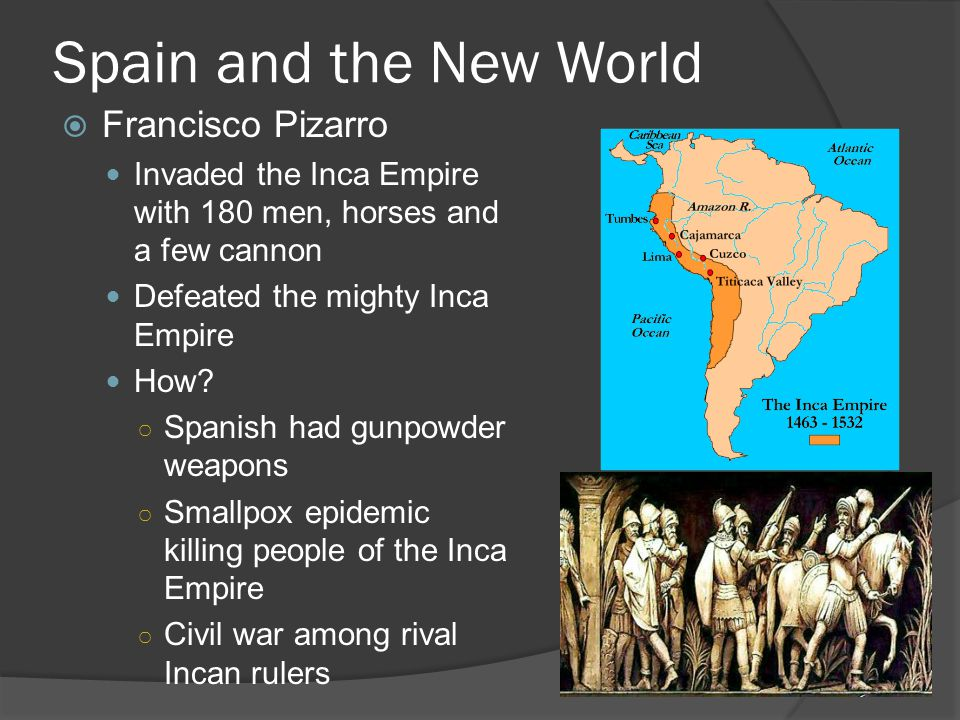 Spain and the New World Francisco Pizarro