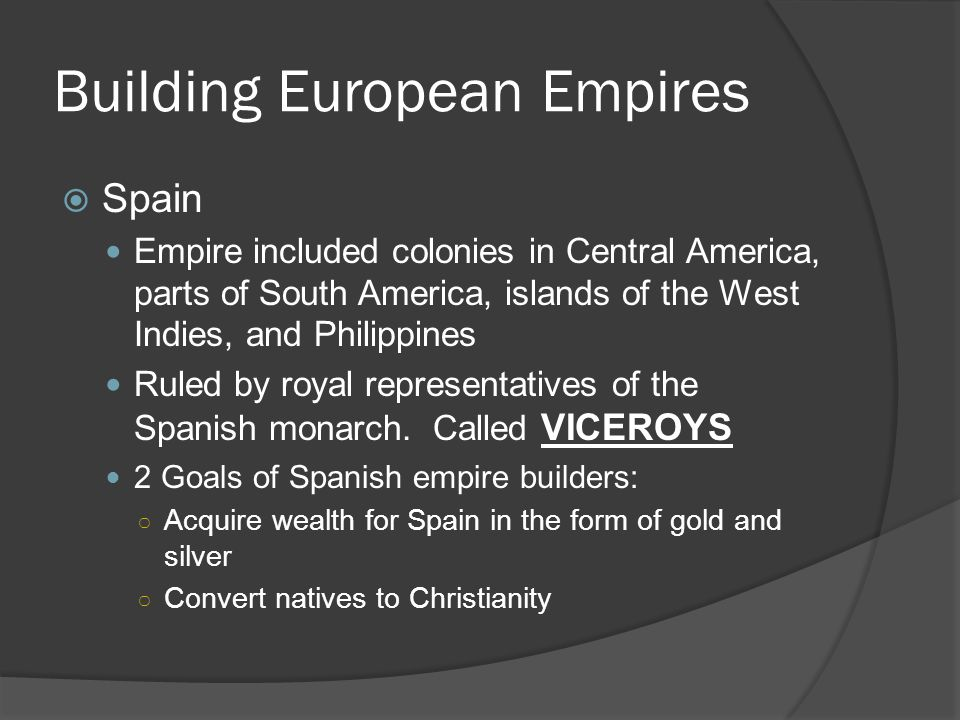 Building European Empires