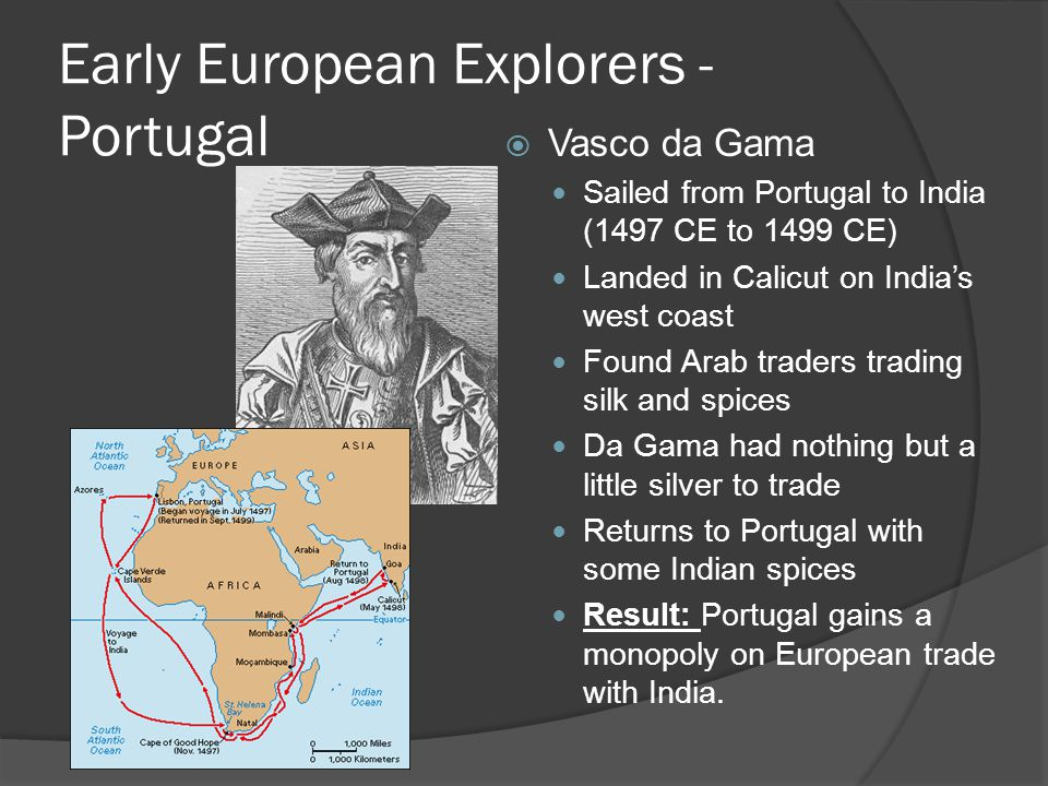 Early European Explorers - Portugal