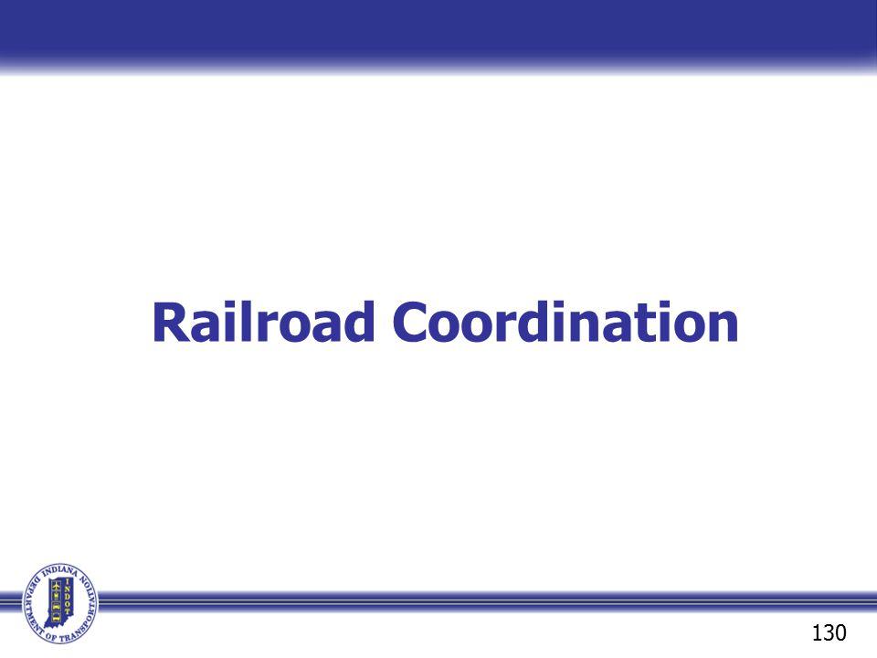 Railroad Coordination
