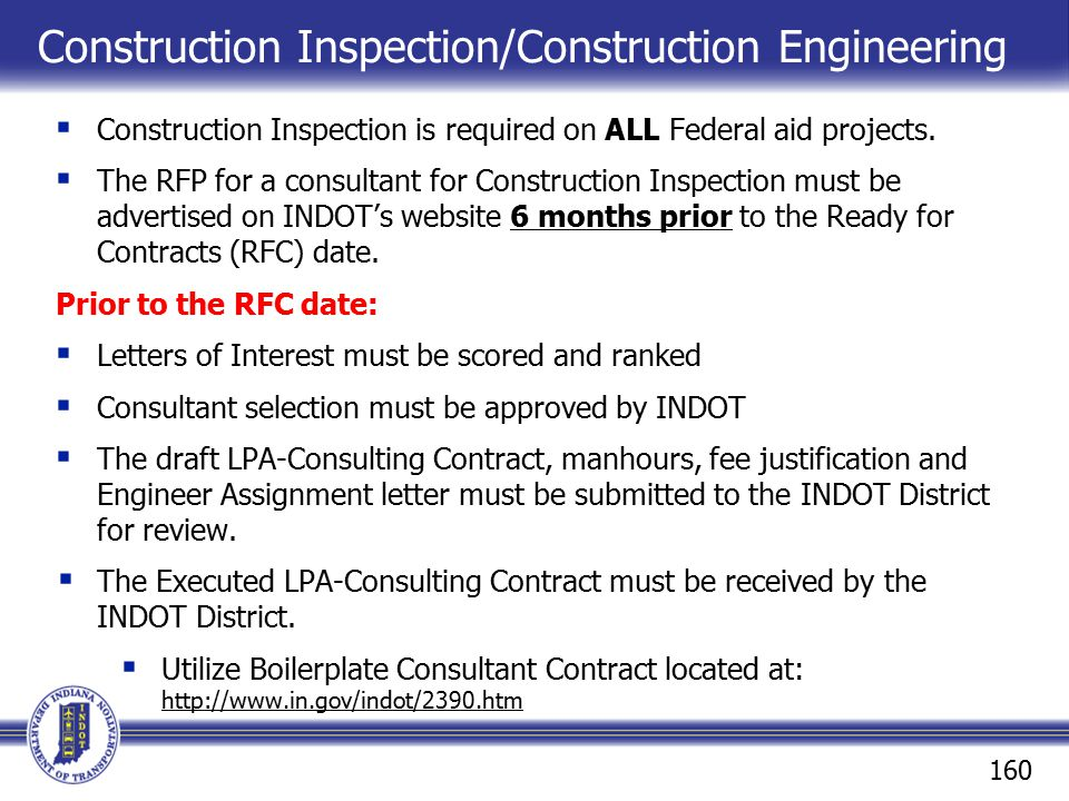 Construction Inspection/Construction Engineering