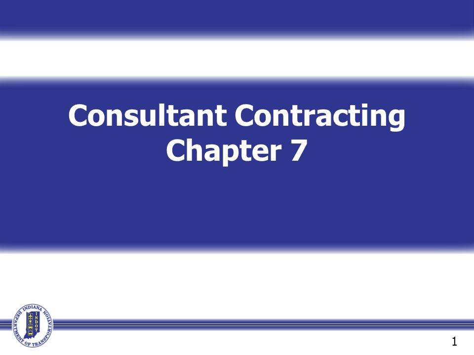 Consultant Contracting