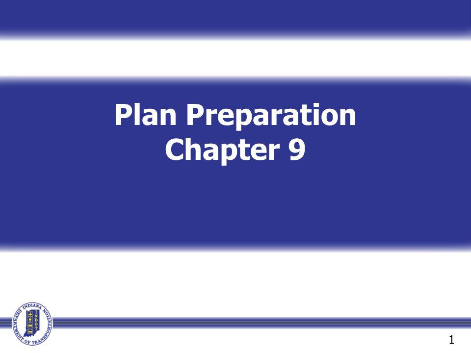 Plan Preparation Chapter 9