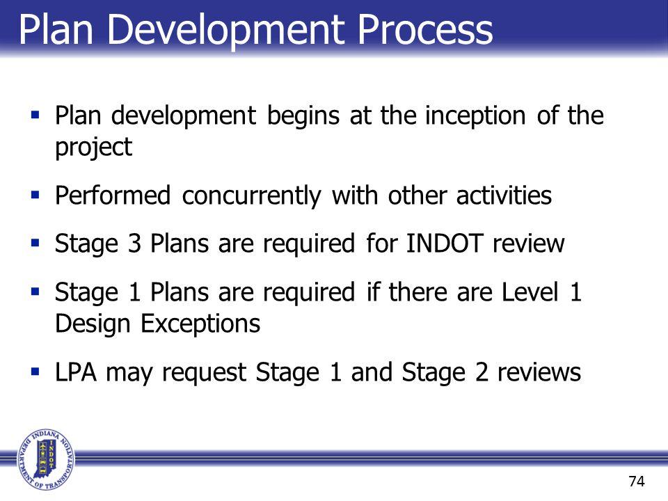 Plan Development Process