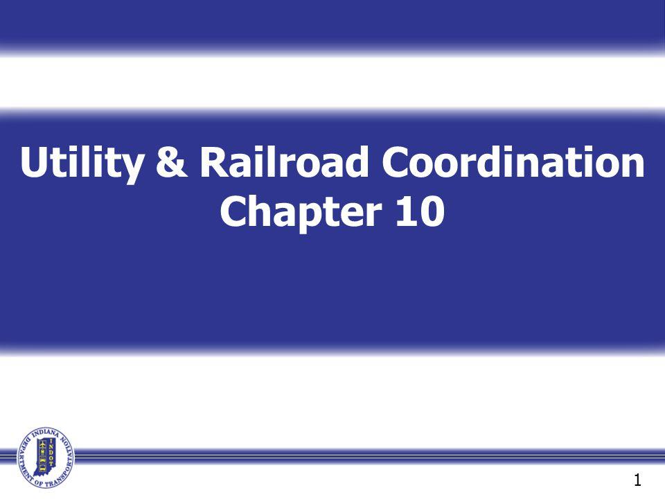 Utility & Railroad Coordination