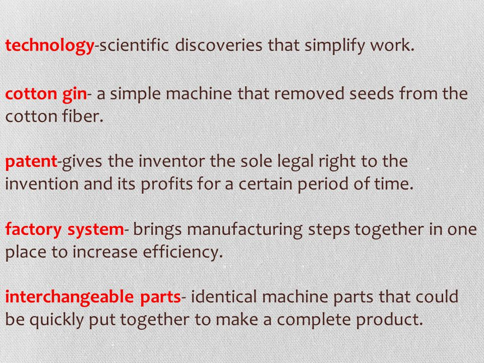 technology-scientific discoveries that simplify work