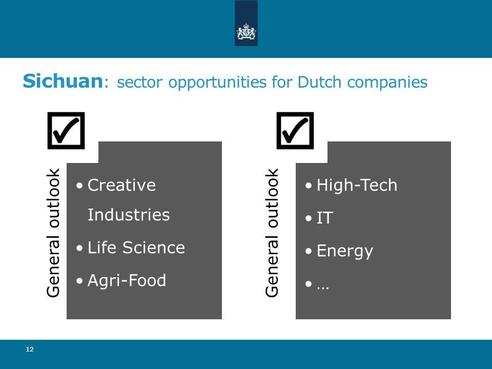 Sichuan: sector opportunities for Dutch companies