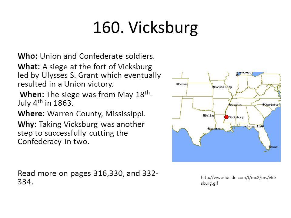 160. Vicksburg