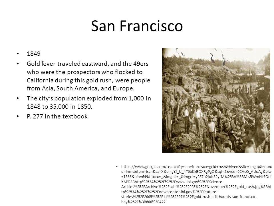 San Francisco 1849.