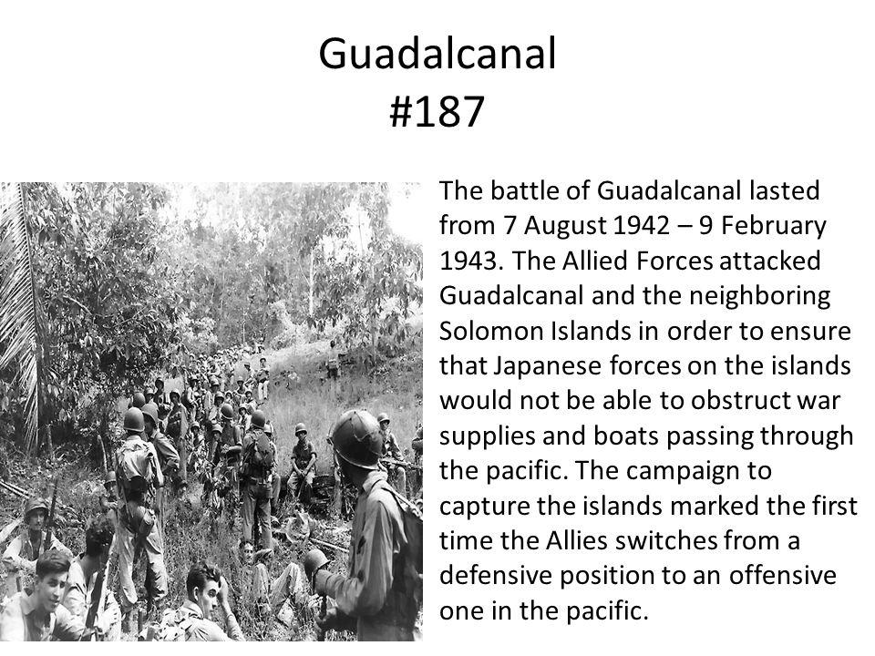 Guadalcanal #187