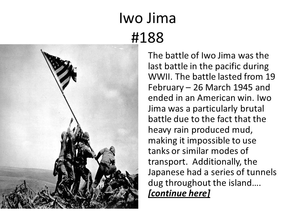 Iwo Jima #188