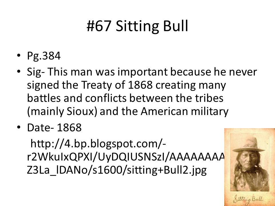 #67 Sitting Bull Pg.384.