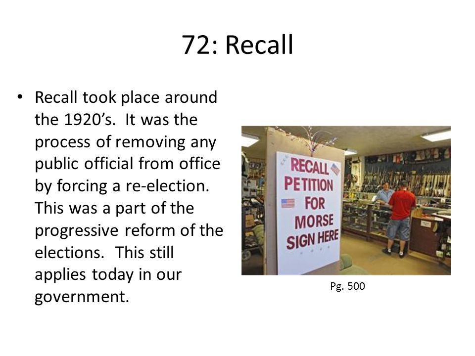 72: Recall