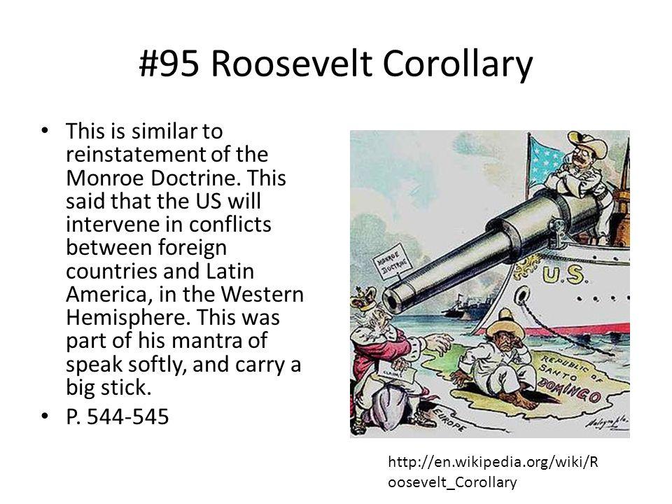 #95 Roosevelt Corollary