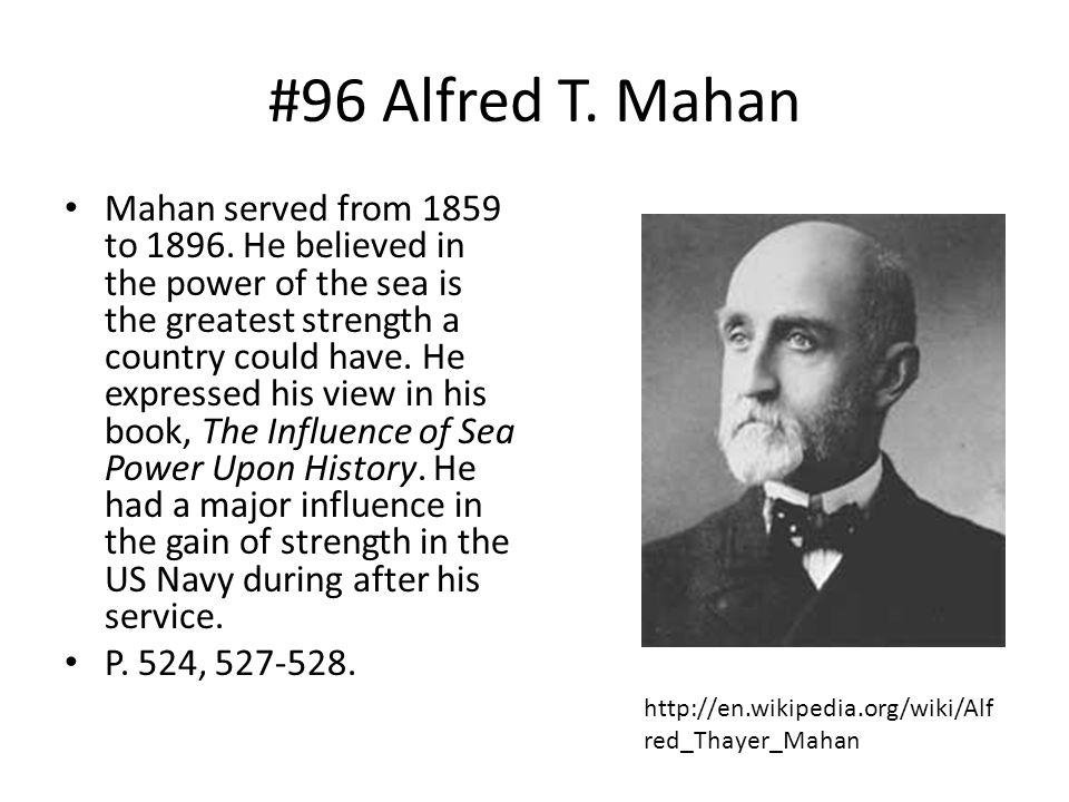 #96 Alfred T. Mahan