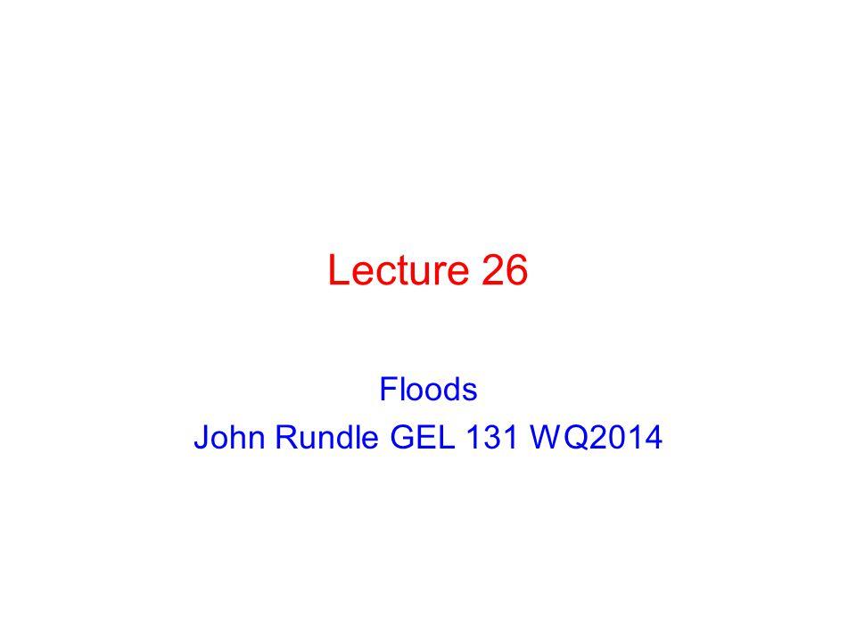 Floods John Rundle GEL 131 WQ2014