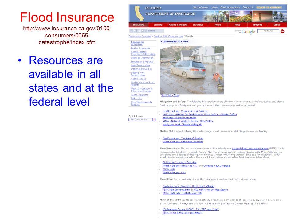Flood Insurance http://www. insurance. ca