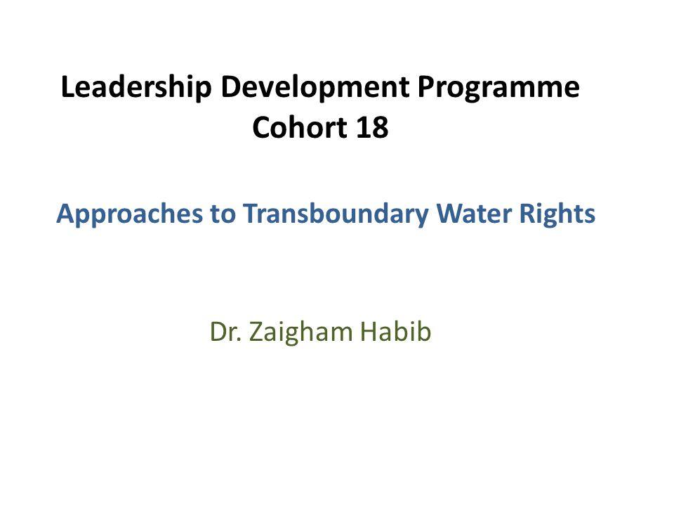 Leadership Development Programme Cohort 18