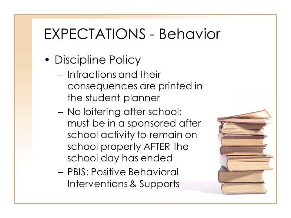 EXPECTATIONS - Behavior