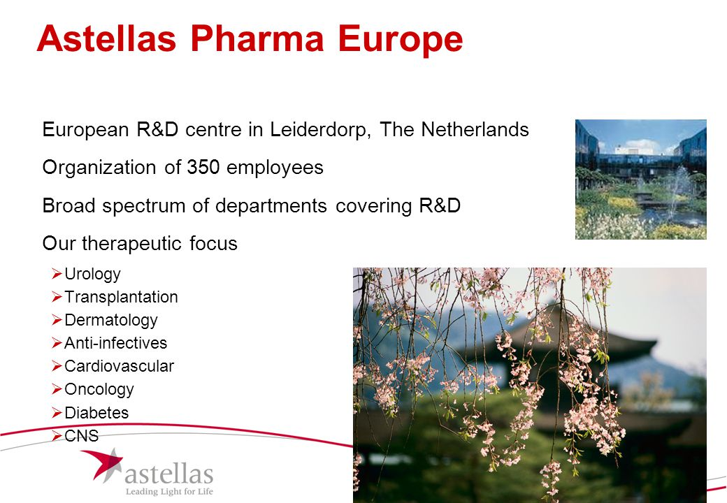 Astellas Pharma Europe