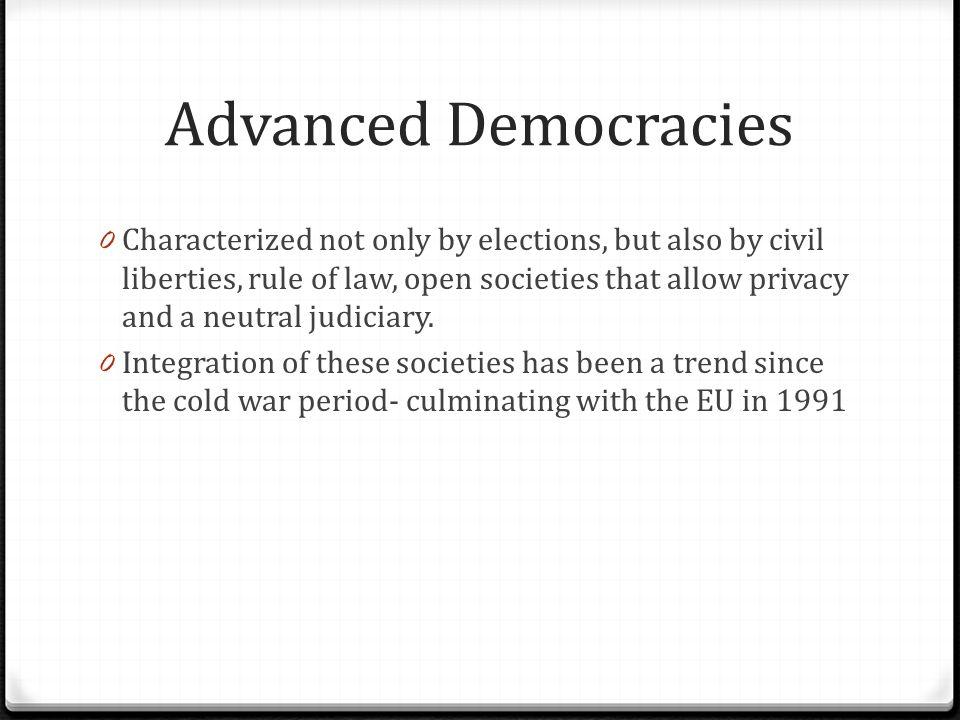 Advanced Democracies