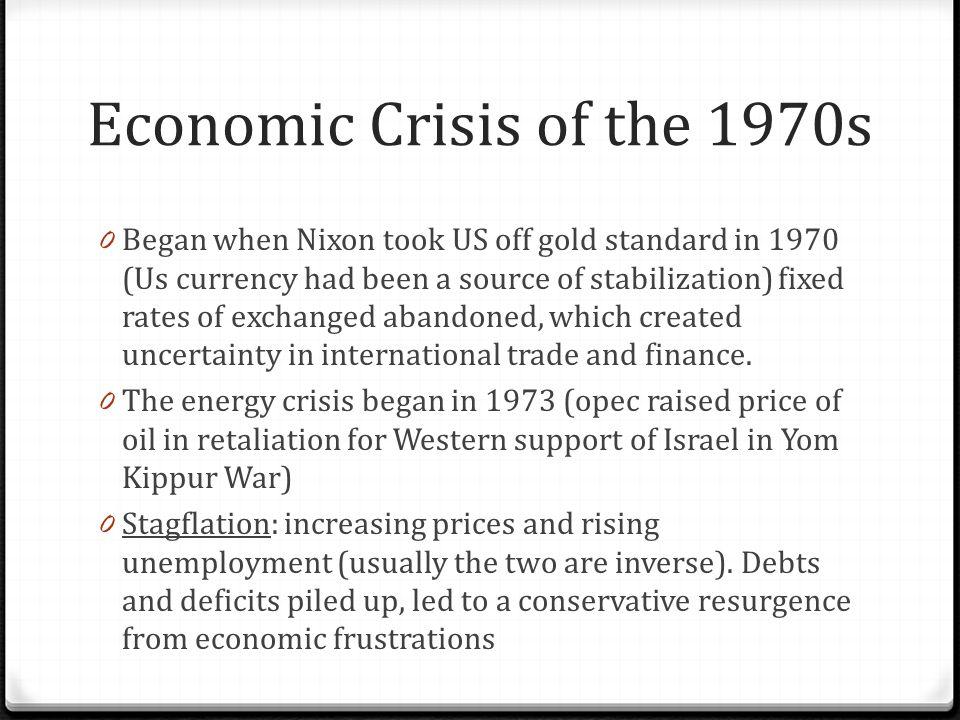 Economic Crisis of the 1970s