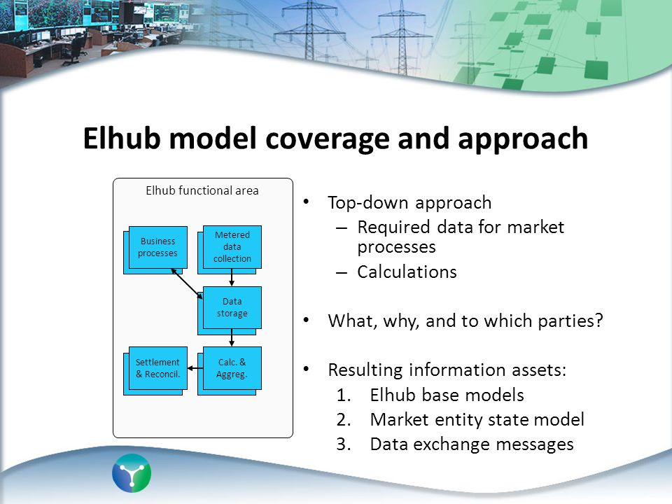 Elhub model coverage and approach