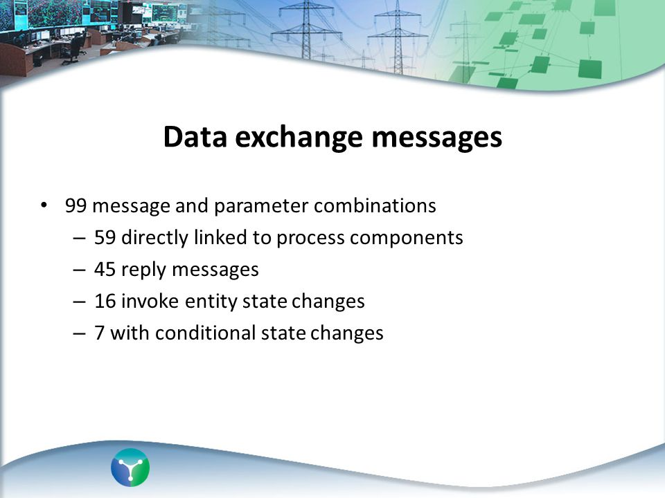 Data exchange messages