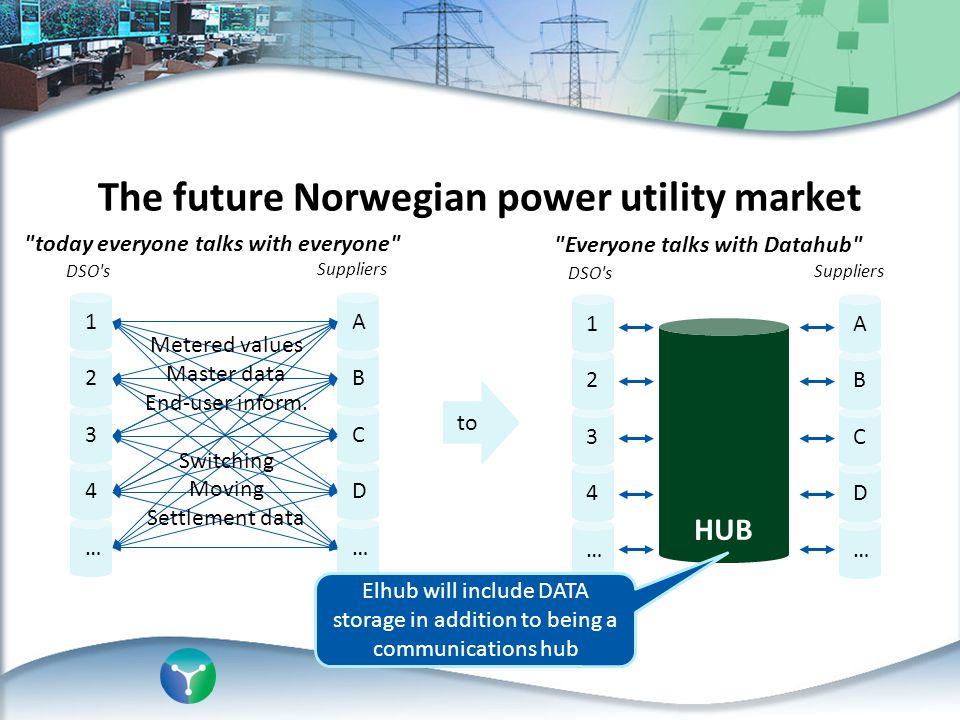 The future Norwegian power utility market