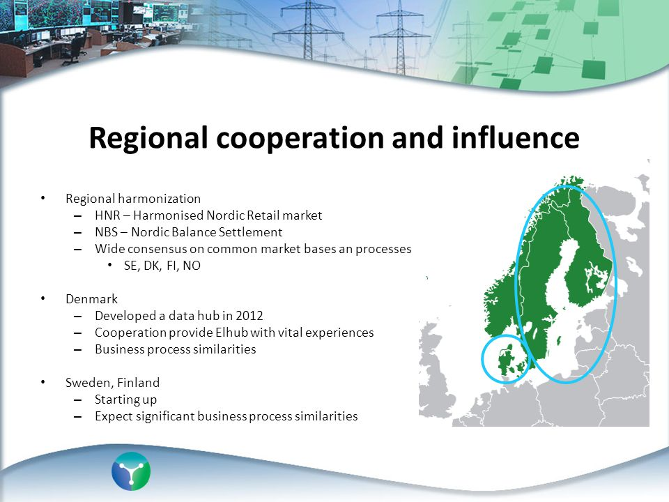 Regional cooperation and influence