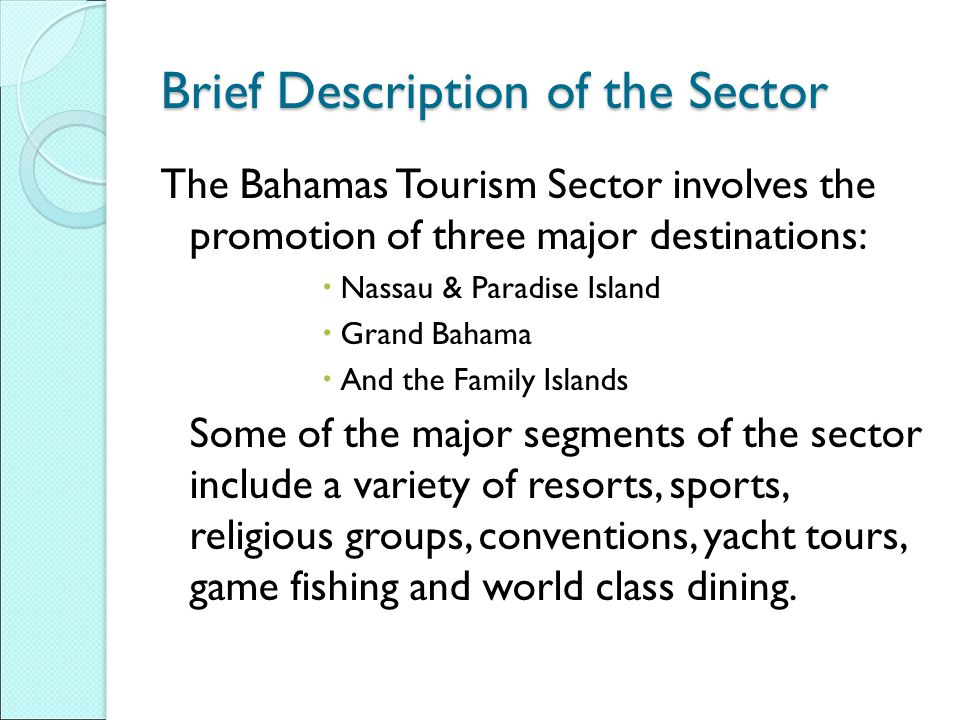 Brief Description of the Sector