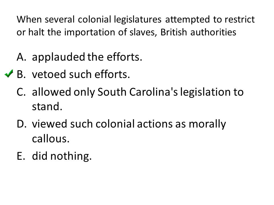 allowed only South Carolina s legislation to stand.