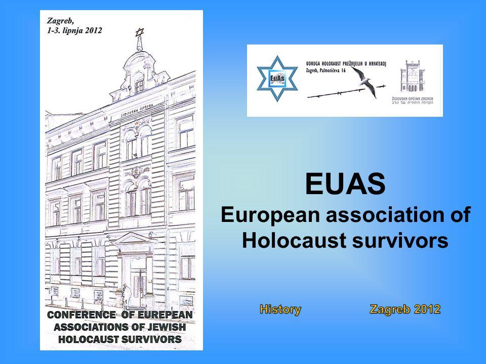 EUAS European association of Holocaust survivors