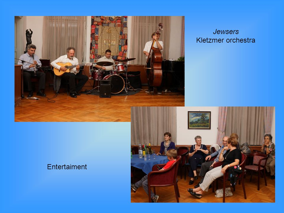 Jewsers Kletzmer orchestra Entertaiment