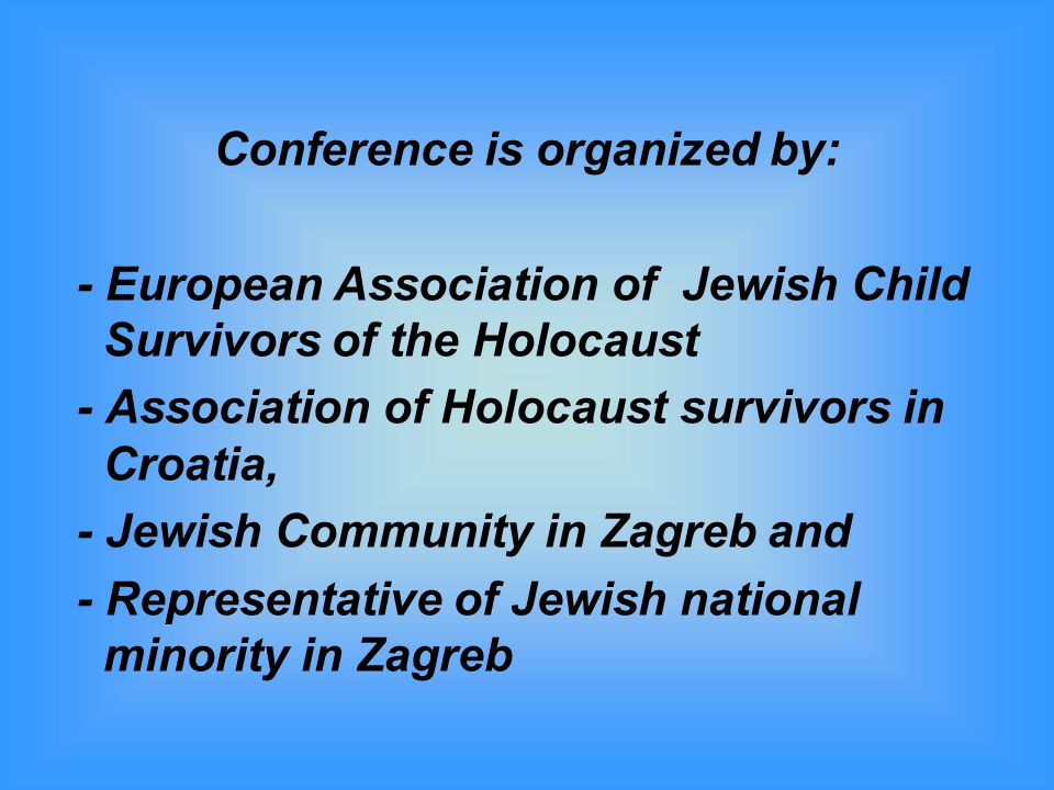 Conference is organized by: