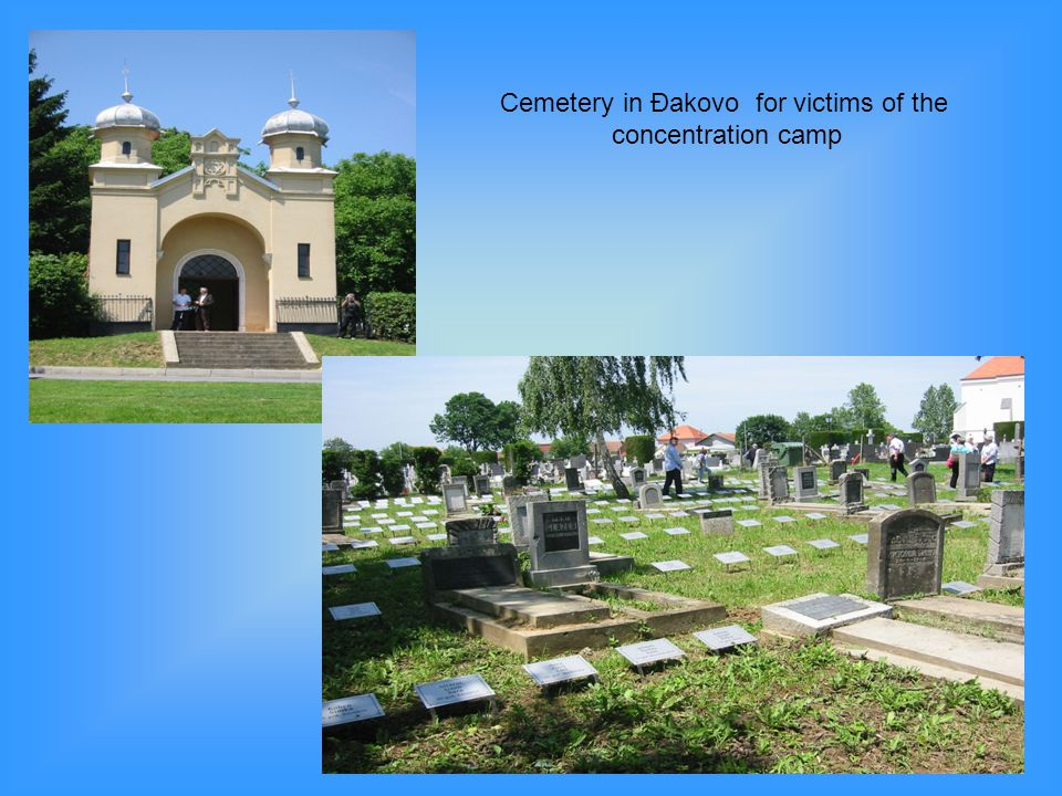 Cemetery in Đakovo for victims of the