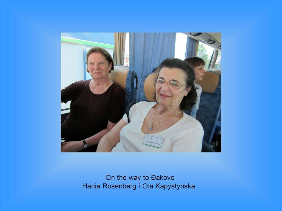 Hania Rosenberg i Ola Kapystynska